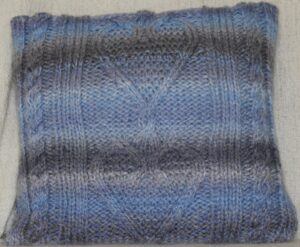 chunky heart blue front